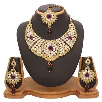 Bridal Necklace Sets | Indian Jewelry Online | Scoop.it