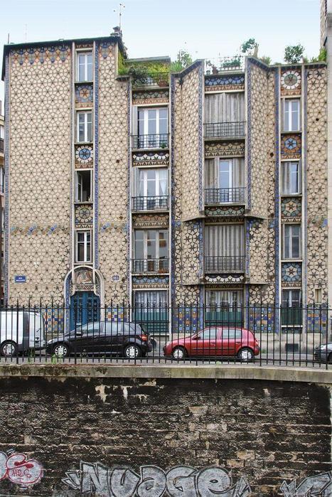 (Re)visitez Paris à travers ces dix façades d'immeubles | FLE en ligne | Scoop.it
