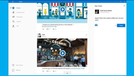 Así luce el nuevo Twitter para Windows 10 | Redes sociales y Social Media | Scoop.it