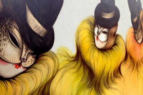 El arte callejero de Miss Van ‹ Revista GO | el arte escapa del aula | Scoop.it