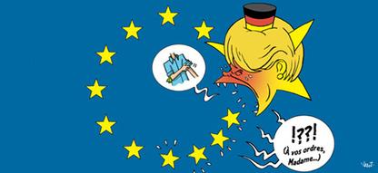 La chancelière de fer est trop rigide | Presseurop (français) | Union Européenne, une construction dans la tourmente | Scoop.it