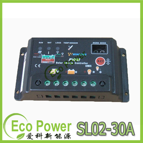 30A 12V/24V PWM Solar Panel Charge Controller Regulator Auto switch | where can i get good price solar charge controller | Scoop.it