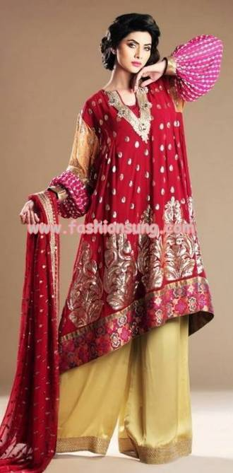 Sameen Kasuri Latest Formal Dresses 2013 For Women | Fashion Forecast | Scoop.it