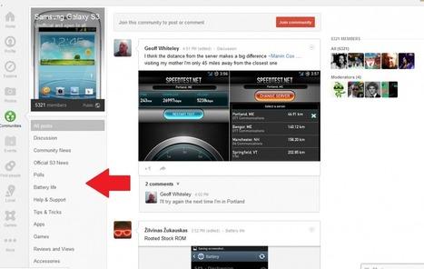 COMMUNITIES - Google+ Guide | my social media | Scoop.it