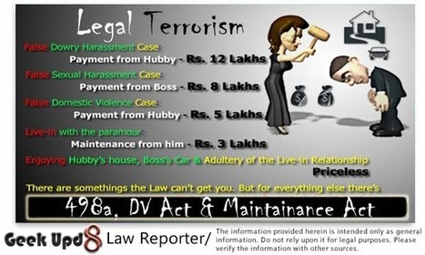Geek Upd8 - Law Reporter | 498a IPC - Indian Dowry Law | Scoop.it