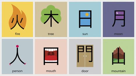 """""""Chineasy"""" dándole a la enseñanza de idiomas un atajo gracias al diseño gráfico   1001 Glossaries, dictionaries, resources   Scoop.it"""