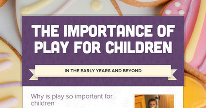 The Importance Of Play For Children | Play Based Learning | Scoop.it