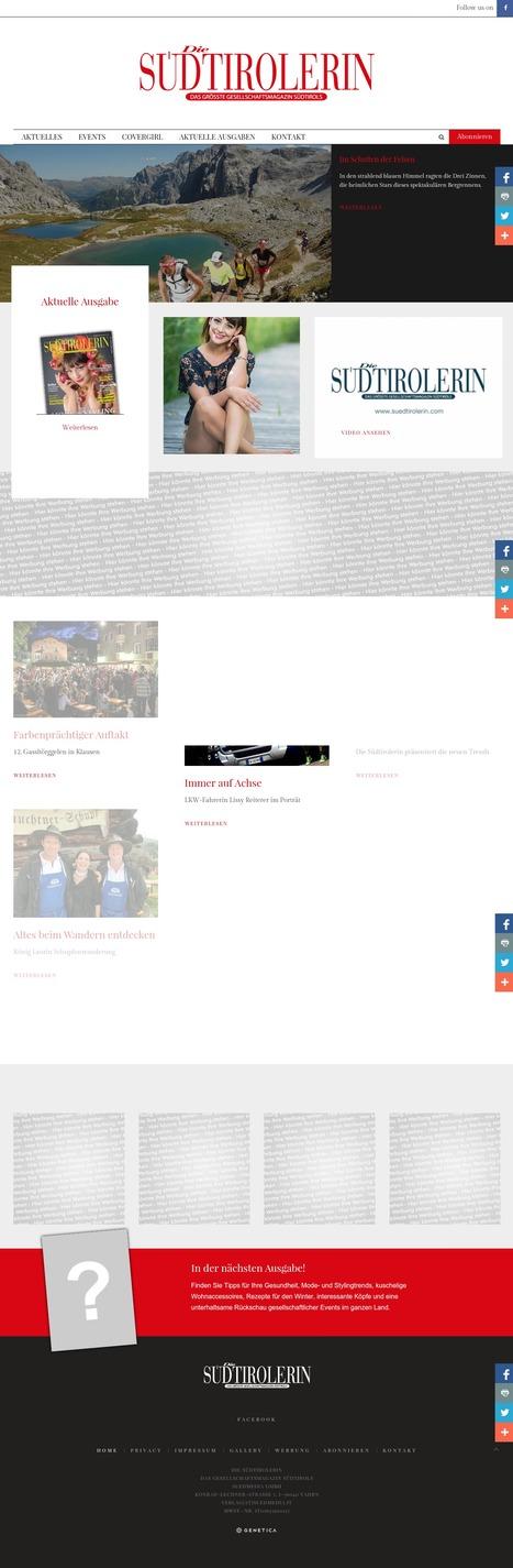 Die Südtirolerin - Online Magazine | geneticamultimedia | Scoop.it