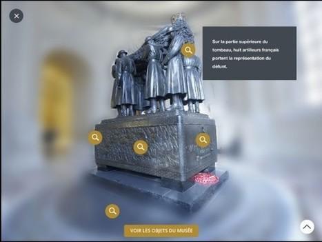 Clic France / [Visite Clic] Le musée de l'Armée lance en septembre 2015 un guide de visite en réalité augmentée et une application pour découvrir le monument et son histoire | Clic France | Scoop.it