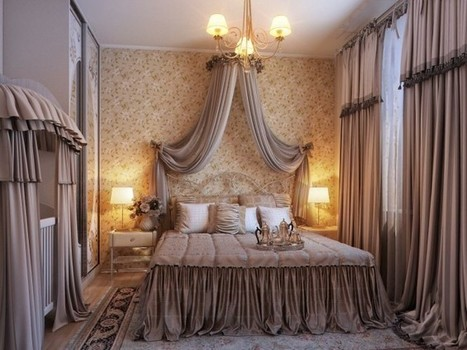 Bedrooms with Traditional Elegance   Designing Interiors   Scoop.it