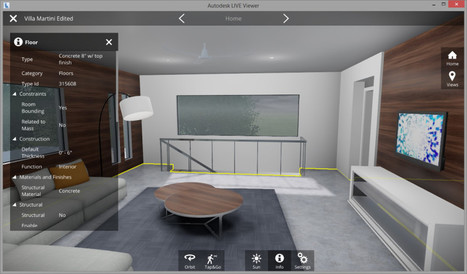 Autodesk Live Turns Revit Models into Interactive 3D Environments | paracode001 | Scoop.it