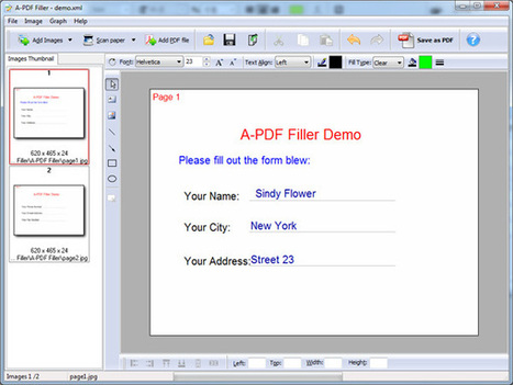 PDF Forms Filler Software - Fill out PDF forms [A-PDF.com] | PDF Forms Filler Software  - Fill In or Out PDF Forms | Scoop.it