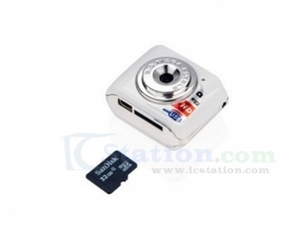 MINI DV Micro Digital Camera USB 2.0 480P OV0308 CMOS Photographs/Video - Digital - Arduino, 3D Printing, Robotics, Raspberry Pi, Wearable, LED, development boardICStation | Electronic DIY Kits & Tools | Scoop.it