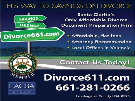 Fixed Fee Divorce Service - Divorce Paralegal Service Santa Clarita | California Divorce Paralegal Articles For Self Represented Clients | Scoop.it
