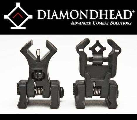 Diamondhead – Polymer Flip-Up Sights | Airsoft Showoffs | Scoop.it
