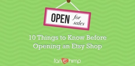 10 Things to Know Before Opening an Etsy Shop   Online Marketing for Small Businesses   Scoop.it