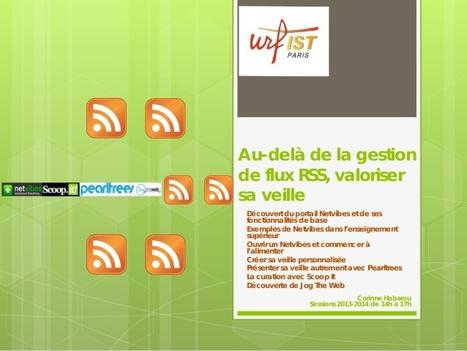 Au-delà de la gestion de flux RSS, valoriser sa veille | Urfist de Paris | Gestion de l'information | Scoop.it