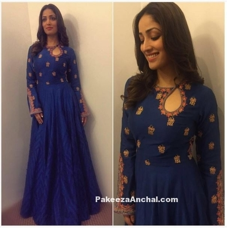 Yami Gautam in Blue Designer Gown by Rimple and Harpreet Narula | Indian Fashion Updates | Scoop.it