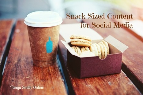The Best Types of Snack Sized Content For Social Media Marketing | Snack Size Content Marketing Strategy | Scoop.it
