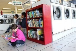 From libraries to laundromats: Ingenious community partnerships promote literacy - EdSource Today | Libraries | Scoop.it