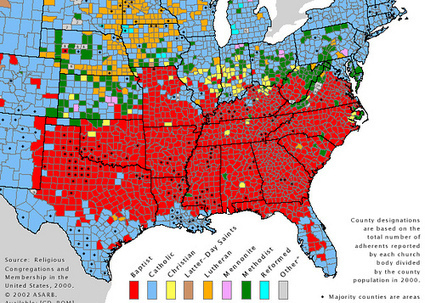 Where Does the South Begin? | Mrs. Nesbitt's Human Geography World | Scoop.it