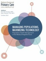 Managing Populations, Maximizing Technology | Patient-Centered Primary Care Collaborative | Health | Scoop.it