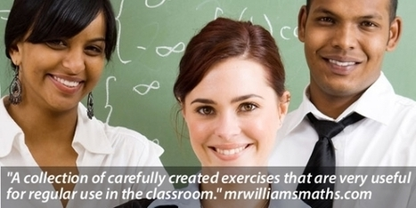 Cazoom Maths - Effective Maths Worksheets and Teaching Resources   technologies   Scoop.it
