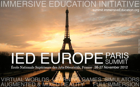 iED Europe Summit Paris 2012 | iED Europe | SchooL-i-Tecs 101 | Scoop.it
