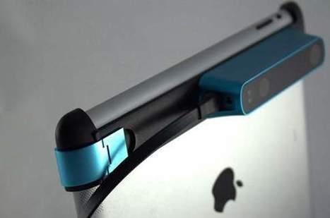 L'actu tech de la Silicon Valley : votre iPad transformé en scanner 3D - Les Échos | Busy | Scoop.it
