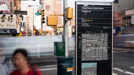 NYC's New Maps Orient You Like A GPS | Internet of Things | Scoop.it