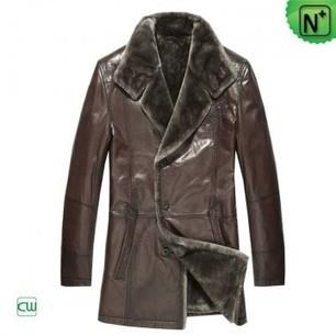 Men's Leather Praka Coats CW868829 | Men's | Scoop.it