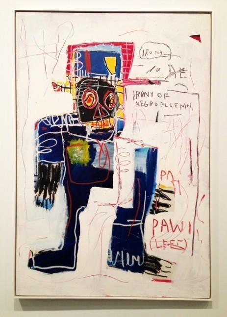 Jean-Michel Basquiat – Exhibition @ Gagosian (New York)   Be Street   Art imitates life imitating Art   Scoop.it