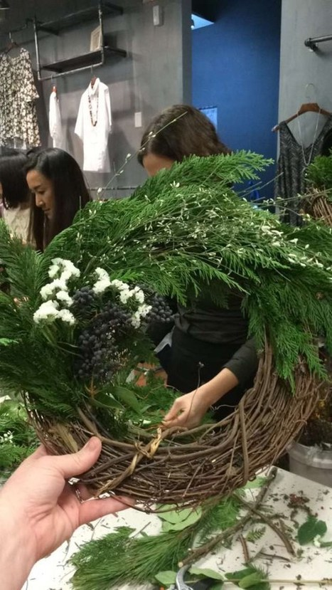 A Wreath Making Workshop   My Faves From The Web   Scoop.it
