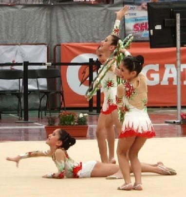 Yucatán brilla en gimnasia rítmica en la Olimpiada Nacional y logra 140 medallas | CRONICA HOUSTON
