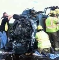 Mysterious priest/angel appears at crash on Missouri Highway 19