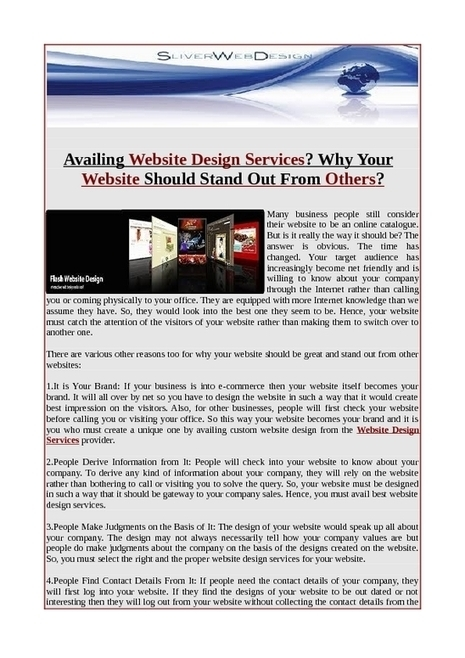 Online Create a custom web design   Web Design.net   Scoop.it