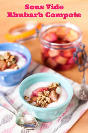 Recipe: Sous Vide Rhubarb Compote - Fuss Free Flavours | Sous Vide Recipes | Scoop.it