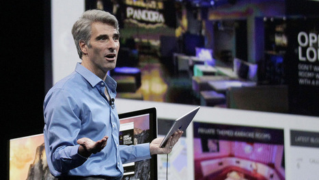 Craig Federighi and Apple want to make coding cool | STEM Studies | Scoop.it