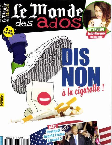 Le Monde des ados N°374 - 16 Novembre 2016 | L'ACTU du CDI | Scoop.it