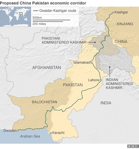 China's Xi Jinping agrees $46bn superhighway to Pakistan | Geography Education | Scoop.it