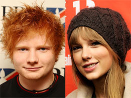 Ed Sheeran says it's nice working with Taylor Swift   Celebrity Cheese   Scoop.it