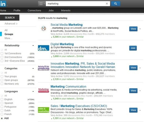 The Definitive Guide To LinkedIn Groups For Marketing | For All Linkedin Lovers | Scoop.it