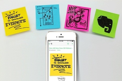 Utiliser Evernote avec vos notes Post-it® | Time to Learn | Scoop.it