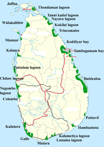 Distribution of mangrove forests in Sri Lanka | World Environment Nature News | Scoop.it