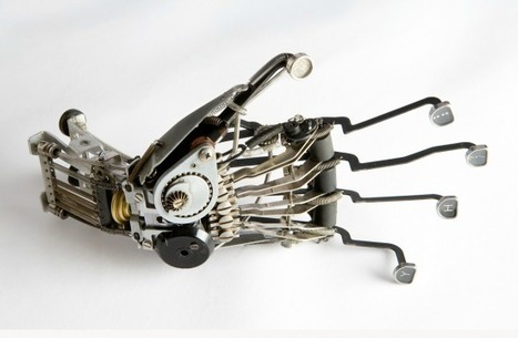 Anatomical Typewriter Sculptures by Jeremy Mayer | arslog | Scoop.it