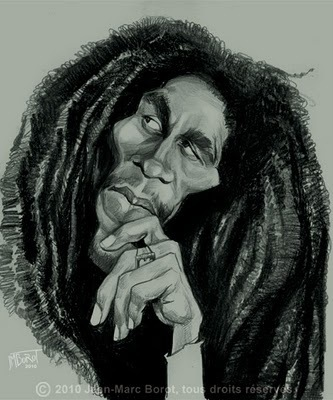 Bob Marley | Caricatures | Scoop.it