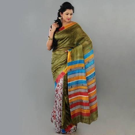 Sorella Boutique –Hand Katha Stitch All Over Saree | Sorella Boutique – Online Sarees Shopping India | Scoop.it