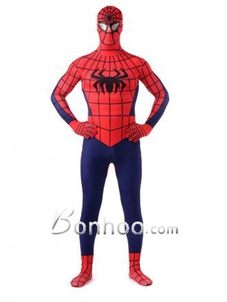 Dark Navy And Red Lycra Unisex Spiderman Costume [201b019] - $59.00 : Shopping Cheap Dresses,Costumes,Quality products from China Best Online Wholesale Store | Cool Spiderman Costumes | Scoop.it