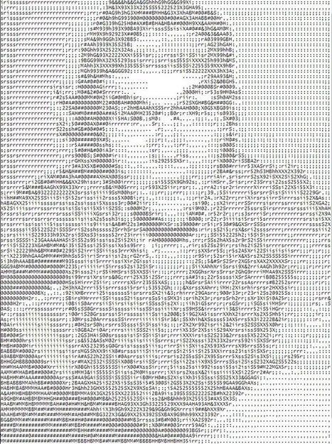 Turn your selfie into a work of ASCII art | ASCII Art | Scoop.it