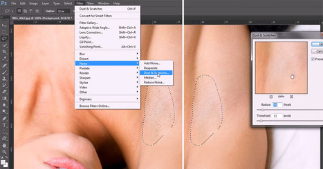 Trick: Erase Stubble in Seconds with Photoshop's Dust and Scratch Tool | xposing world of Photography & Design | Scoop.it